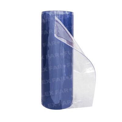 Rotolo PVC Azzurro trasparente 1000 x 1mm x 20mt UV