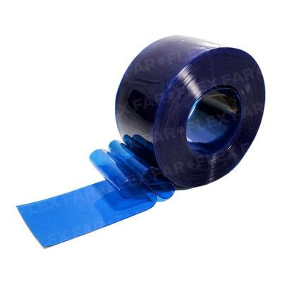 Strisce PVC Blu trasparente