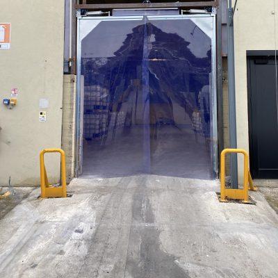 Porte flessibile a battenti